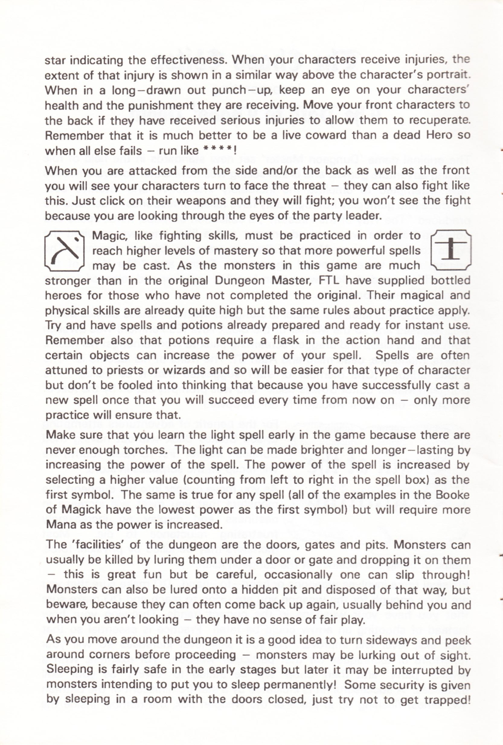 Tool - The Chaos Editor - UK - Atari ST - Manual - Page 004 - Scan