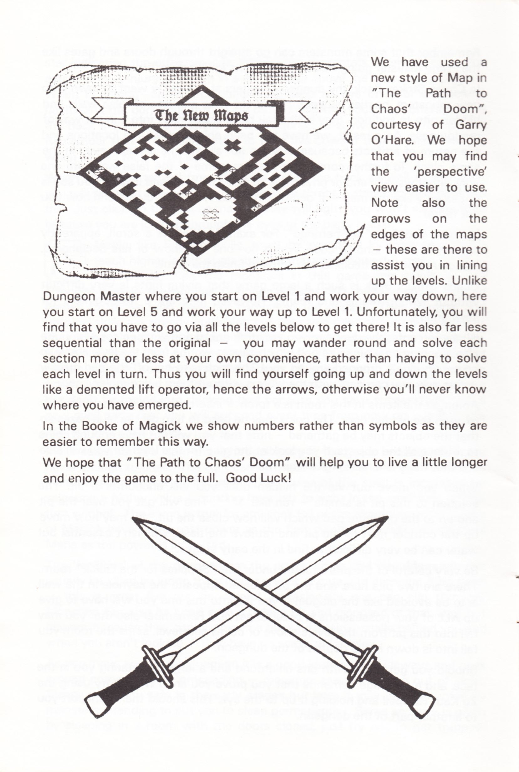 Tool - The Chaos Editor - UK - Atari ST - Manual - Page 006 - Scan