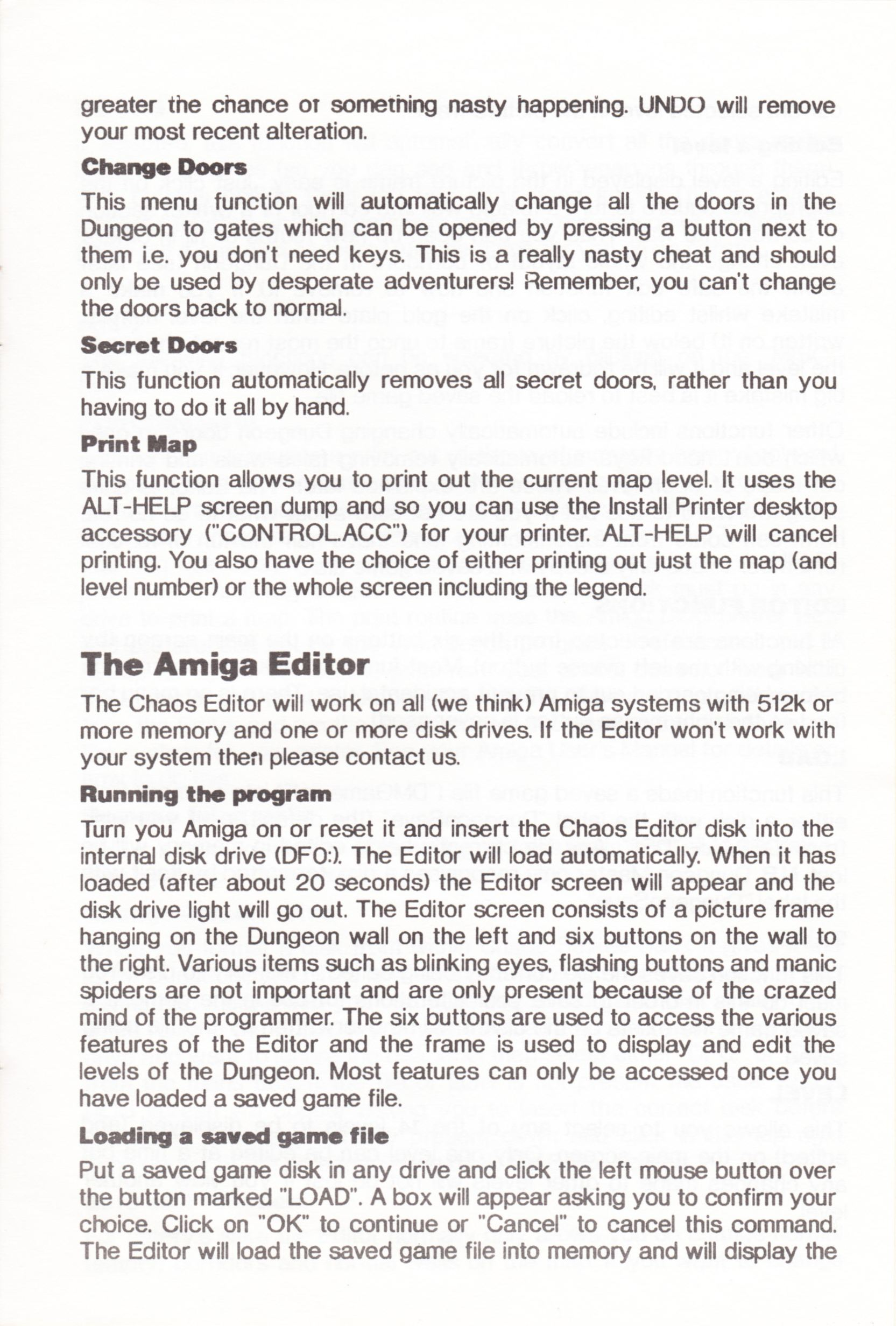 Tool - The Chaos Editor - UK - Atari ST - Manual - Page 017 - Scan