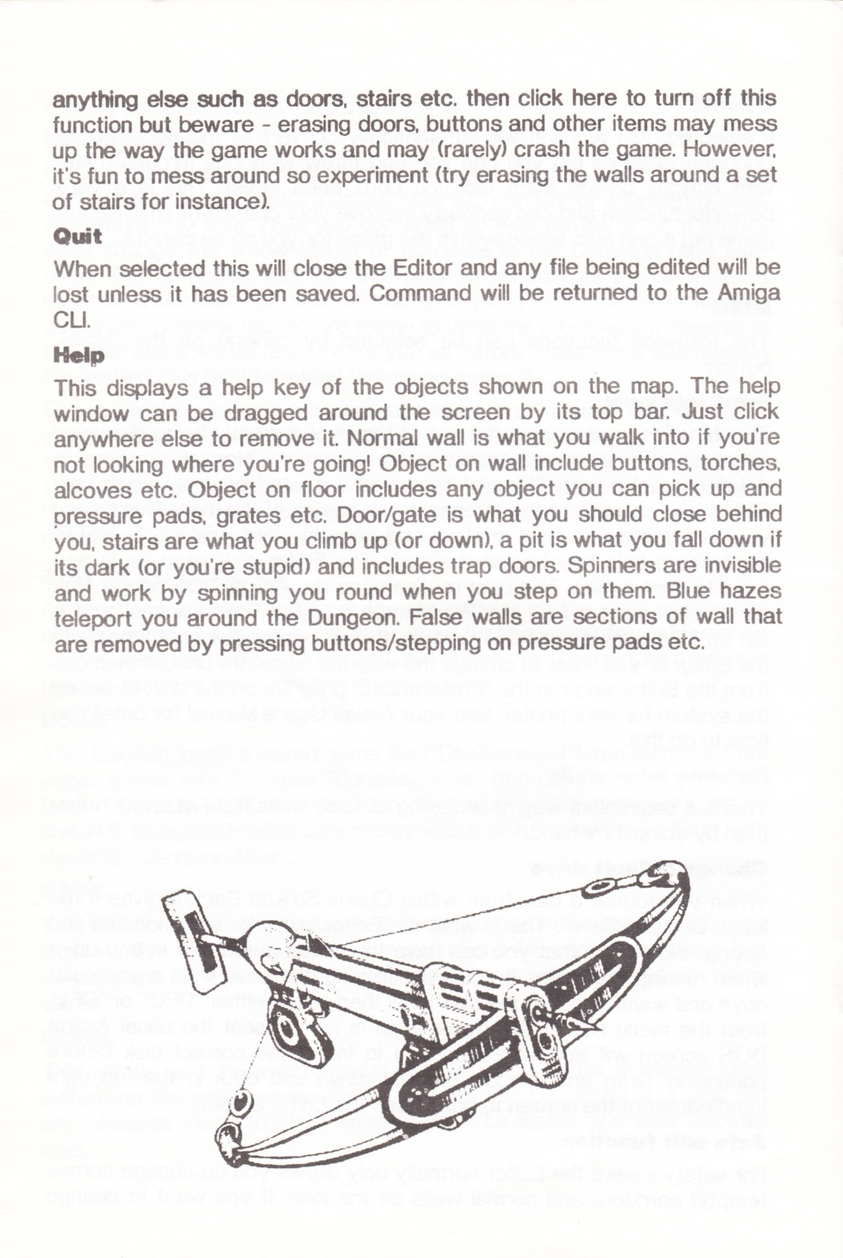 Tool - The Chaos Editor - UK - Atari ST - Manual - Page 020 - Scan