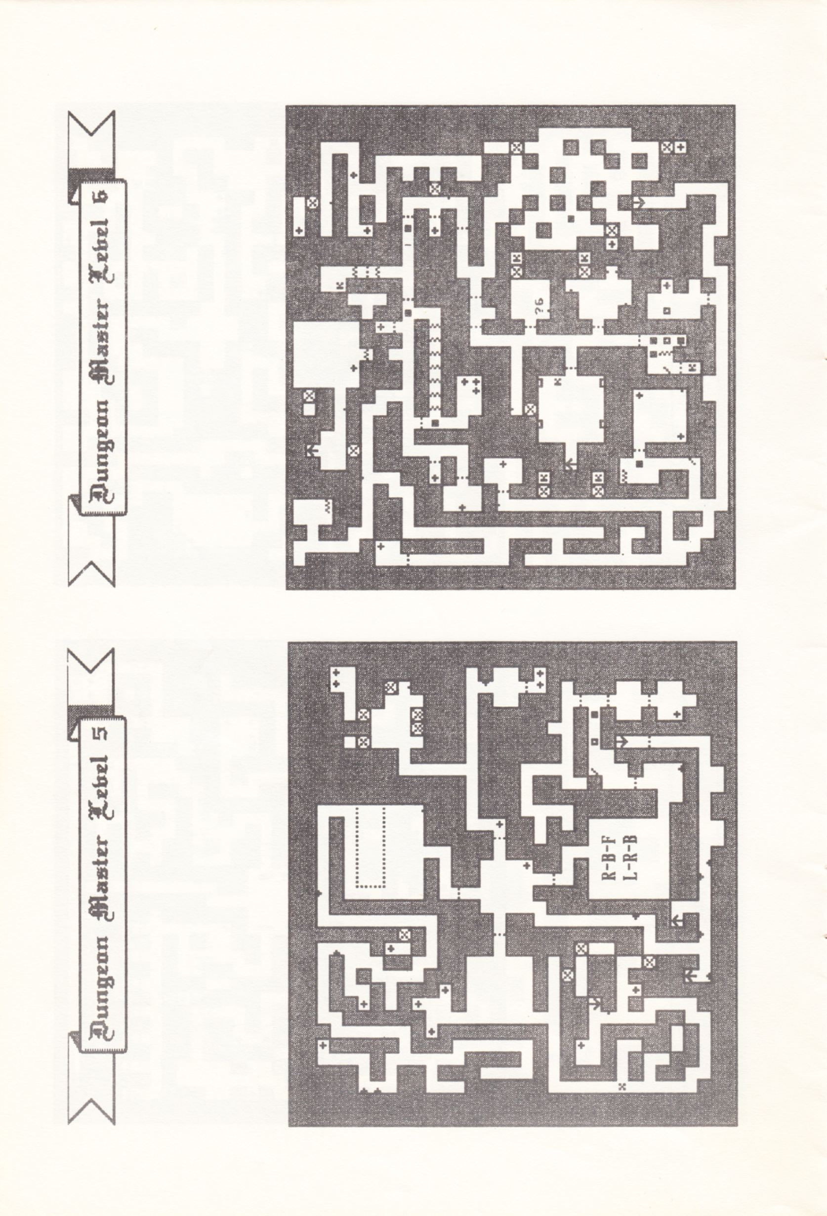 Tool - The Dungeon Master Editor - UK - Amiga - Atari ST Manual - Page 010 - Scan
