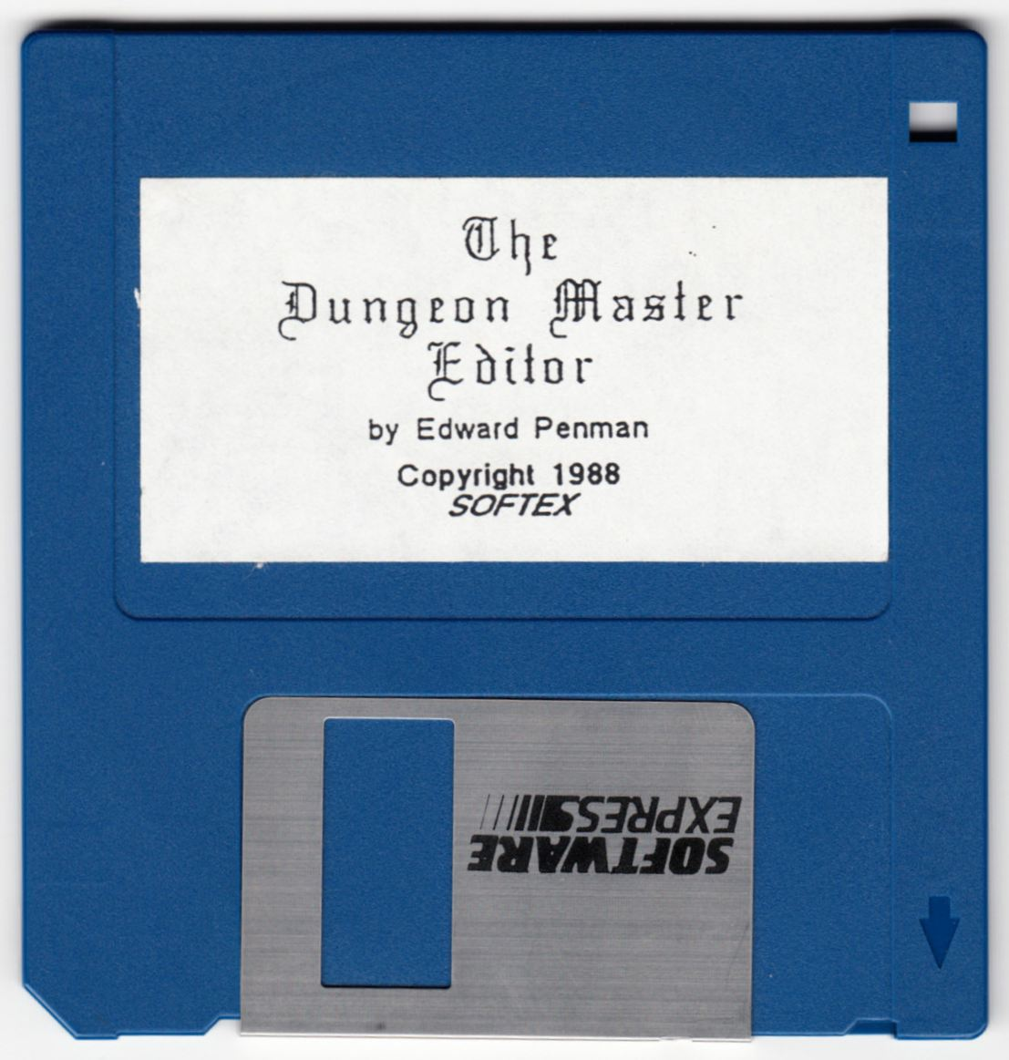 Tool - The Dungeon Master Editor - UK - Amiga - Disk - Front - Scan