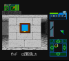 Dungeon Master for Super Famicom Screenshot - In game