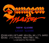 Dungeon Master for Super NES Screenshot - Main menu